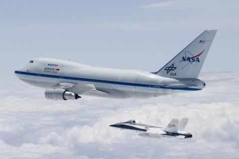 Avión NASA