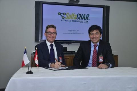 Firma SulfaCHAR Chile